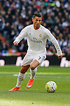 Real Madrid´s Cristiano Ronaldo during 2015/16 La Liga match between Real Madrid and Atletico de Madrid at Santiago Bernabeu stadium in Madrid, Spain. February 27, 2016. (ALTERPHOTOS/Victor Blanco)
