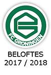 BELOFTES 2017 - 2018