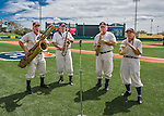 11 March 2016: The Walt Disney World Philharmonic Saxophone Quartet entertains the fans prior to a Spring Training pre-season game between the Philadelphia Phillies and the Atlanta Braves at Champion Stadium in the ESPN Wide World of Sports Complex in Kissimmee, Florida. The Phillies defeated the Braves 9-2 in Grapefruit League play. Mandatory Credit: Ed Wolfstein Photo *** RAW (NEF) Image File Available ***