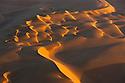 Namibia;  Namib Desert, Namib-Naukluft National Park, sand dunes near coast, aerial view