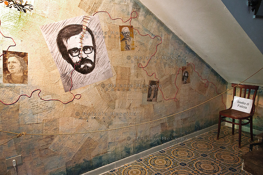 Casa della famiglia Impastato, adesso aperta al pubblico.<br /> Impastato house now open to the visitors