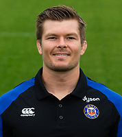 Guy Lewis of Bath Rugby poses for a portrait. Bath Rugby Media Day on August 14, 2018 at Farleigh House in Bath, England. Photo by: Patrick Khachfe / Onside Images