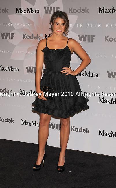 CENTURY CITY, CA. - June 01: Nikki Reed  arrives at the 2010 Crystal + Lucy Awards: A New Era at Hyatt Regency Century Plaza on June 1, 2010 in Century City, California.