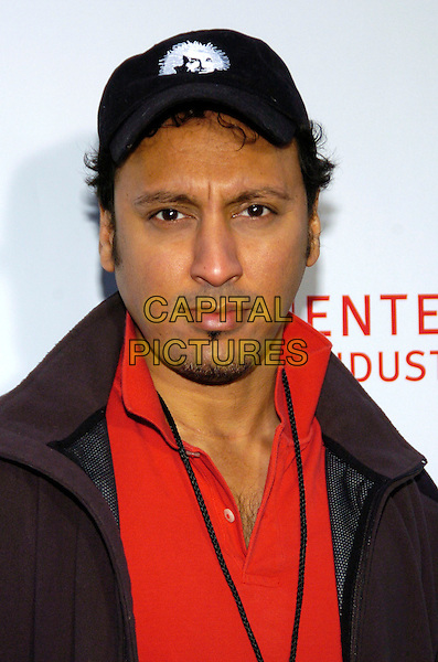 ASIF MANDVI.Entertainment Industry Foundation's 10th Anniversary Revlon Run/Walk for Women in Times Square, New York City, New York, USA, .5 May 2007 .portrait headshot cap hat .CAP/ADM/BL.©Bill Lyons/AdMedia/Capital Pictures. *** Local Caption ***