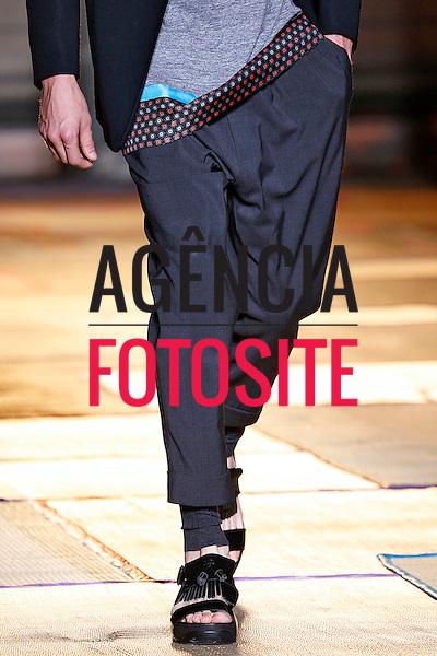 Paris, Franca &ndash; 06/2014 - Desfile de Cerruti 1881 durante a Semana de moda masculina de Paris - Verao 2015. <br /> Foto: FOTOSITE