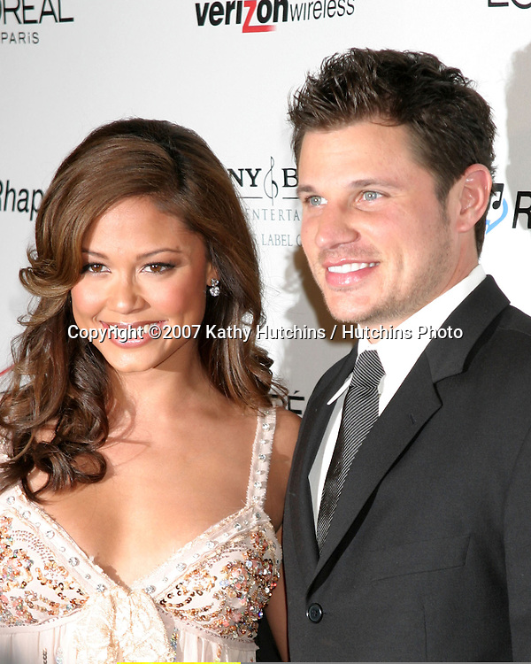 Vanessa Minillo & Nick Lachey.Clive Davis Annual Pre-Grammy Party.Beverly Hilton Hotel.Los Angeles, CA.February 10, 2007.©2007 Kathy Hutchins / Hutchins Photo.Vanessa Minillo .Clive Davis Annual Pre-Grammy Party.Beverly Hilton Hotel.Los Angeles, CA.February 10, 2007.©2007 Kathy Hutchins / Hutchins Photo.