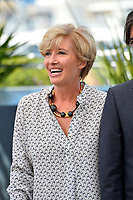 Emma Thompson at the photocall for &quot;The Meyerowitz Stories&quot; at the 70th Festival de Cannes, Cannes, France. 21 May 2017<br /> Picture: Paul Smith/Featureflash/SilverHub 0208 004 5359 sales@silverhubmedia.com