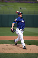 Jake Diekman - Texas Rangers 2016 spring training (Bill Mitchell)