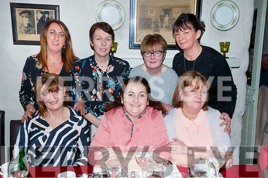 Paco, staff, Tralee, who enjoyed a night out in Cassidy's restaurant, Tralee, on Friday night last, were front l-r: Ann Marie Mangan, Geraldine Sheehy and Helena Foran.  Back l-r: Eileen Whelan, Maura Whelan, Mary Griffin and Carol Dooley.