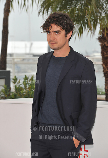 "Riccardo Scamarcio at photocall for his movie ""Miele"" at the 66th Festival de Cannes..May 18, 2013  Cannes, France.Picture: Paul Smith / Featureflash"