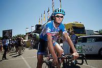 Johan Vansummeren (BEL/Garmin-Sharp)<br /> <br /> 2014 Tour de France<br /> stage 12: Bourg-en-Bresse - Saint-Eti&egrave;nne (185km)