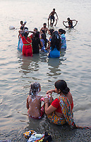 Babu Ghat, at the Ganges River Kolkata, India