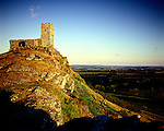 St Saint Michael de la Rupe Church, Brentor, Dartmoor, Devon England..Celtic Britain published by Orion. ( Saint Michael of the Rope.) Site of an Iron Age hillfort...