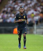 Thomas Lemar of Monaco during the UEFA Champions League Group stage match between Tottenham Hotspur and Monaco at White Hart Lane, London, England on 14 September 2016. Photo by Andy Rowland.