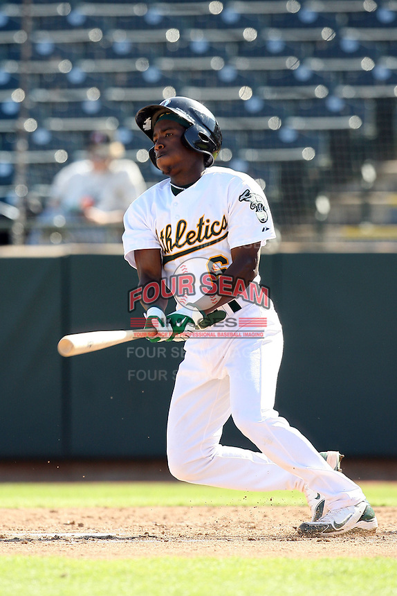 Jemile Weeks - Phoenix Desert Dogs, 2009 Arizona Fall League.Photo by:  Bill Mitchell/Four Seam Images..