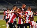 Atlético Junior derrotó 3-1 al Deportivo Cali en el estadio metropolitano de Barranquilla, en compromiso pactado por la fecha 9 del rentado colombiano