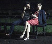 NEW YORK,NY - JULY 20,2012; Mark Ruffalo and Keira Knightley shooting on location in Central Park for the new VH-1 movie &quot;Can a Song Save Your Life?&quot; in New York City. &copy; RW/MediaPunch Inc. *NortePhoto.com*<br /> **SOLO*VENTA*EN*MEXICO**<br />  **CREDITO*OBLIGATORIO** *No*Venta*A*Terceros*<br /> *No*Sale*So*third* ***No*Se*Permite*Hacer Archivo***No*Sale*So*third*&Acirc;&copy;Imagenes*con derechos*de*autor&Acirc;&copy;todos*reservados*.