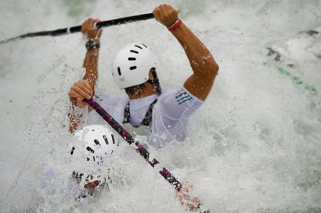 Canoe Doubl, Men Heats, Andrea Benetti, Erik Masoero (Italy) Summer Olympics, Beijing, China, August 13, 2008