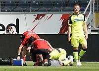Verletzung bei Paderborn<br /> - 27.06.2020: Fussball Bundesliga, Saison 19/20, Spieltag 34, Eintracht Frankfurt vs. SC Paderborn 07, emonline, emspor, Namen v.l.n.r. <br /> <br /> Foto: Marc Schueler/Sportpics.de/Pool <br /> Nur für journalistische Zwecke. Only for editorial use. (DFL/DFB REGULATIONS PROHIBIT ANY USE OF PHOTOGRAPHS as IMAGE SEQUENCES and/or QUASI-VIDEO)