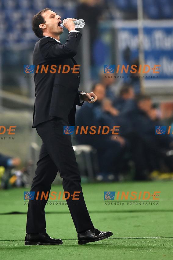 Massimiliano Allegri Juventus <br /> Roma 22-11-2014 Stadio Olimpico, Football Calcio Serie A . Lazio - Juventus. Foto Andrea Staccioli / Insidefoto