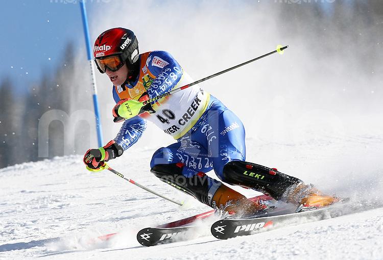 Ski Alpin; Saison 2006/2007  Slalom Herren Marc Gini (SUI)