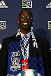 14 January 2010: Ike Opara was selected with the #3 overall pick by the San Jose Earthquakes. The 2010 MLS SuperDraft was held in the Ballroom at Pennsylvania Convention Center in Philadelphia, PA during the NSCAA Annual Convention.