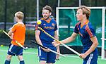 UTRECHT - Oranje v Jong Oranje. Bob de Voogd  . rechts Jorrit Croon. COPYRIGHT KOEN SUYK