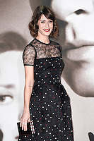 Lizzy Caplan<br /> at the &quot;Allied&quot; UK premiere, Odeon Leicester Square, London.<br /> <br /> <br /> &copy;Ash Knotek  D3202  21/11/2016