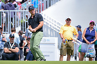 Paul Casey (GBR) watches his putt on 15 during round 3 of the World Golf Championships, Dell Technologies Match Play, Austin Country Club, Austin, Texas, USA. 3/24/2017.<br /> Picture: Golffile | Ken Murray<br /> <br /> <br /> All photo usage must carry mandatory copyright credit (&copy; Golffile | Ken Murray)