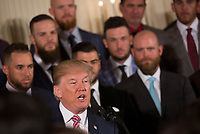 MAR 12 2017 World Series Champions Houston Astros Visit The White House