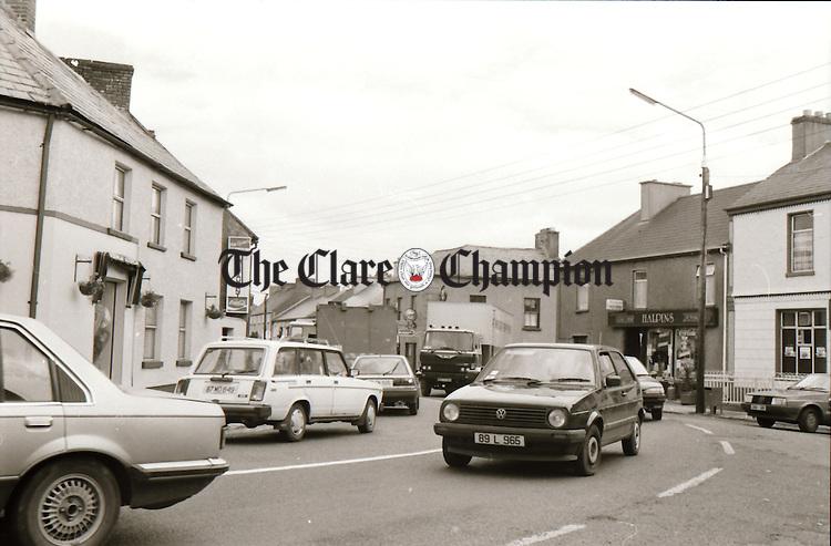 Newmarket-on-Fergus - July 10, 1990. Photograph by Liam McGrath