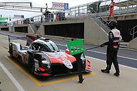 #8 TOYOTA GAZOO RACING (JPN) TOYOTA TS050 HYBRID LMP1 SEBASTIEN BUEMI (CHE) KAZUKI NAKAJIMA (JPN) FERNANDO ALONSO (ESP)