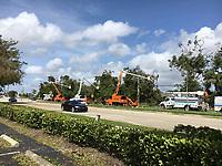 2017 FPL Hurricane Irma restoration in Pompano Beach, Fla. on Sept. 11, 2017
