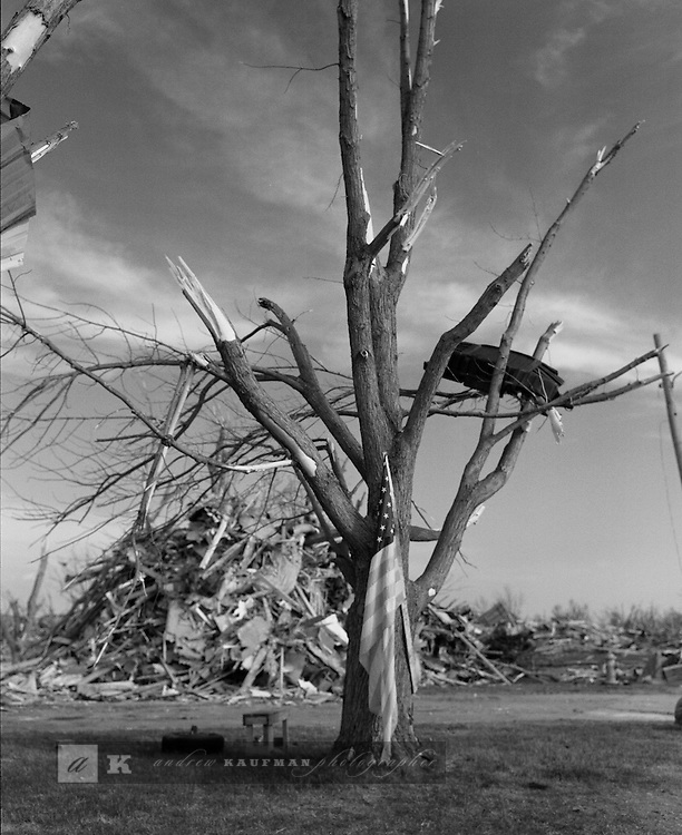 Greensburg, Kansas was hit by an F5 tornado on Friday, May 4th. Here is what is left of the city. 961 homes were destroyed, dozens of business and twelve people died.