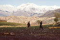 Iran 1982.Peshmergas in the mountains near the border of Iraq