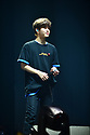 CORAL GABLES, FL - FEBRUARY 07: Seungmin, of South Korean Boy band Stray Kids performs on stage during Stray Kids World Tour 'District 9 : Unlock' in Miami at Watsco Center on February 7, 2020 in Coral Gables, Florida. ( Photo by Johnny Louis / jlnphotography.com )