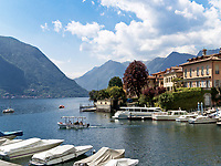 Italien, Lombardei, Comer See, Urlaubsort Sala Comacina am Westufer | Italy, Lombardia, Lake Como, resorts Sala Comacina at the west banks