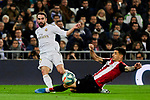 Nacho Fernandez of Real Madrid during La Liga match between Real Madrid and Athletic Club de Bilbao at Santiago Bernabeu Stadium in Madrid, Spain. December 22, 2019. (ALTERPHOTOS/A. Perez Meca)