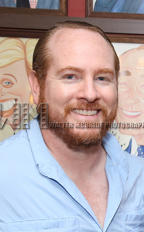 Darren Goldstein attends the portrait unveilings of Laura Linney and Cynthia Nixon starring on Broadway in the Manhattan Theatre Club's THE LITTLE FOXES, at Sardi's on June 29, 2017 in New York City.