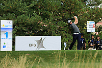 Max Orrin (ENG) during the third round of the Kazakhstan Open presented by ERG played at Zhailjau Golf Resort, Almaty, Kazakhstan. 15/09/2018<br /> Picture: Golffile | Phil Inglis<br /> <br /> All photo usage must carry mandatory copyright credit (&copy; Golffile | Phil Inglis)