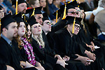 Graduates listen to speakers at the Western Nevada College commencement ceremony in Carson City, Nev., on Monday, May 20, 2019. <br /> Photo by Cathleen Allison/Nevada Momentum