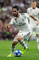 Isco Alarcon of Real Madrid during the match between Real Madrid vs Viktoria Plzen of UEFA Champions League, Group Stage, Group G, date 3, 2018-2019 season. Santiago Bernabeu Stadium. Madrid, Spain - 23 OCT 2018.