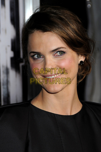 "KERI RUSSELL .""Extraordinary Measures"" Los Angeles Premiere held at Grauman's Chinese Theatre, Hollywood, California, USA..January 19th, 2010.headshot portrait black.CAP/ADM/BP.©Byron Purvis/AdMedia/Capital Pictures."