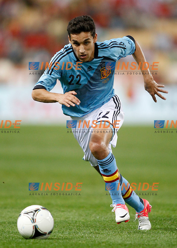 Spain's Jesus Navas during friendly match.June 3,2012.(Insidefoto / Acero / Alterphotos) .Calcio Spagna Cina