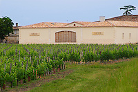 Chateau Nenin winery and vineyard Pomerol Bordeaux Gironde Aquitaine France