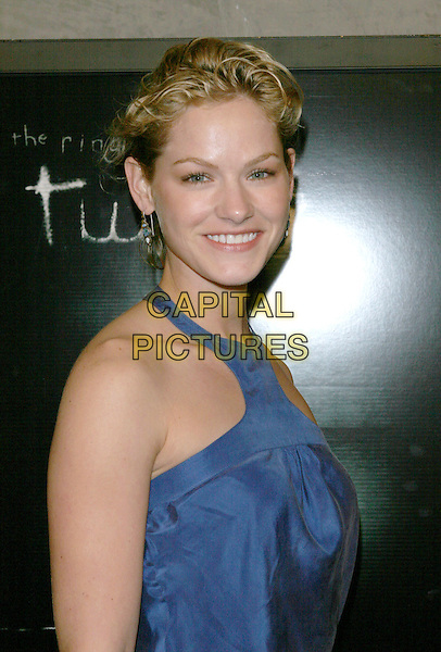 KELLY OVERTON.The The Ring Two Special Screening Party held at the Geisha Housel,  Hollywood, California.March 8th, 2005.Photo Credit: Jacqui Wong/AdMedia.headshot portrait blue halterneck top .www.capitalpictures.com.sales@capitalpictures.com.© Capital Pictures.