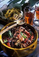 Cuisine/Gastronomie Generale: Marmite de poulpes aux olives