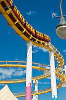 Pacific Park, Pier, Roller Coaster, Amusement, Santa Monica, CA,  Recreation, SoCal, South Bay, Santa Monica Bay