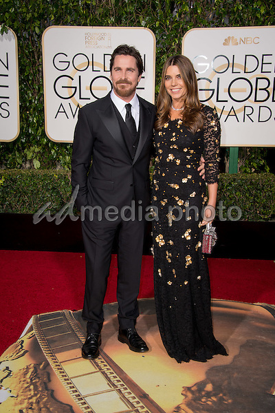"Nominated for BEST PERFORMANCE BY AN ACTOR IN A MOTION PICTURE – COMEDY OR MUSICAL for his role in ""The Big Short,"" actor Christian Bale attends the 73rd Annual Golden Globes Awards at the Beverly Hilton in Beverly Hills, CA on Sunday, January 10, 2016. Photo Credit: HFPA/AdMedia"