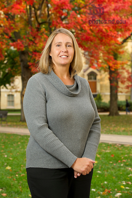 Candy Rassi, Student Financial Aid, Photo by Barbara Johnston/University of Notre Dame